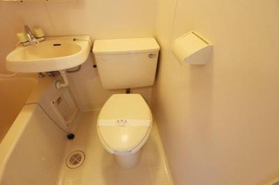 【トイレ】コーポハピネス