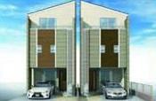 【完成予想図】全居室6帖以上の新築戸建て 川口市芝中田2丁目