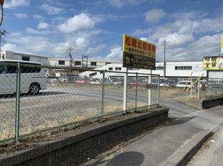 【外観】松尾北駐車場