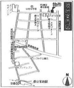 【地図】ブライトM