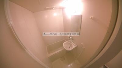 【浴室】レオパレス吉田