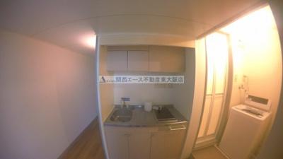 【キッチン】レオパレス吉田