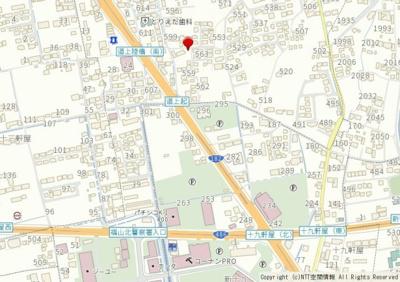 【地図】神辺字道上