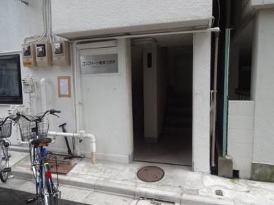 コンフォート竜泉 1Fエントランス
