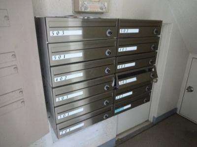 コンフォート竜泉 メールボックス
