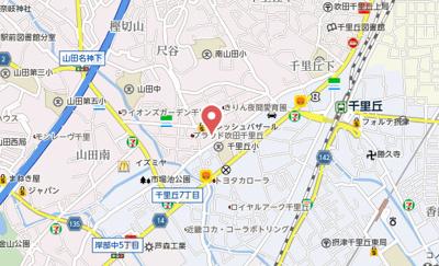 【地図】ウェリス吹田千里丘