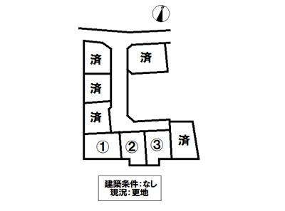 【区画図】御幸町大字上岩成3号地