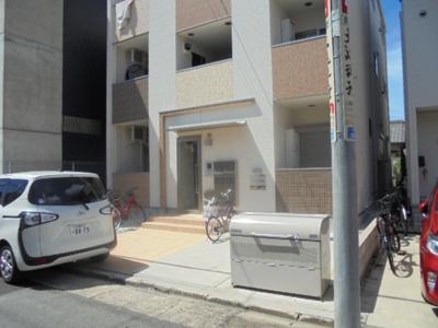 【エントランス】ハーモニーテラス上飯田北町