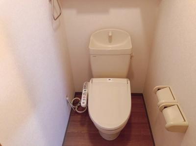 ゆったりとした空間のトイレです 【COCO SMILE ココスマイル】