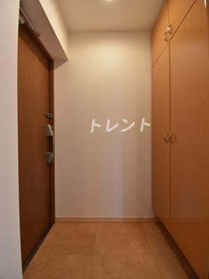 【玄関】アルブル高輪