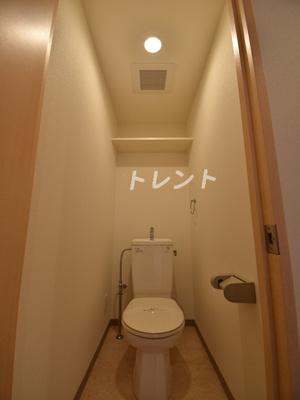 【トイレ】アルブル高輪