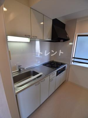 【キッチン】アルブル高輪
