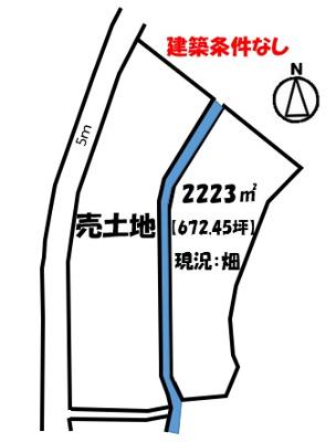 【区画図】千田町大字藪路