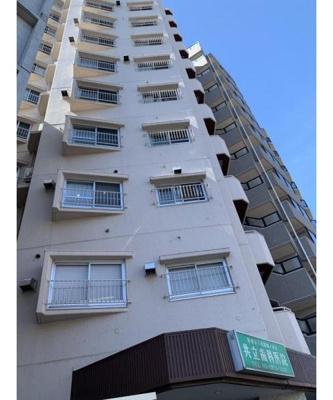 コープ大山、11階建ての最上階のお住いです。