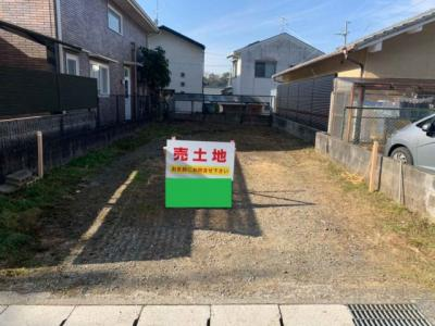 【外観】鹿ケ谷桜谷町 売土地 〇更地渡し〇