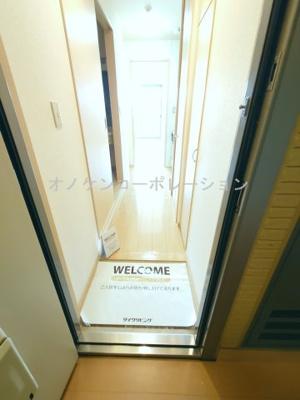 【玄関】パークハイム弐番館 B棟