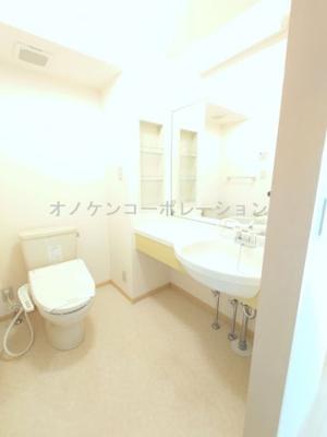 【洗面所】パークハイム弐番館 B棟