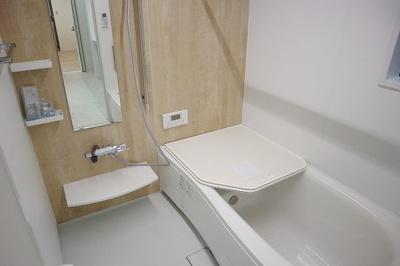TV付き浴室