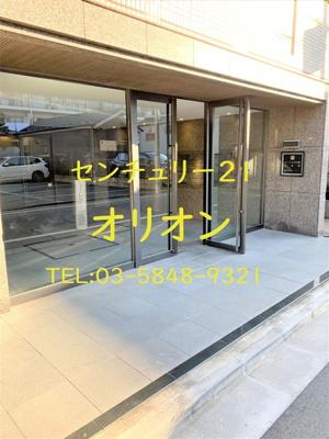 【エントランス】ルーブル中村橋弐番館