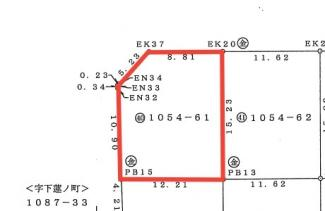 【土地図】東沼波プライムシティー