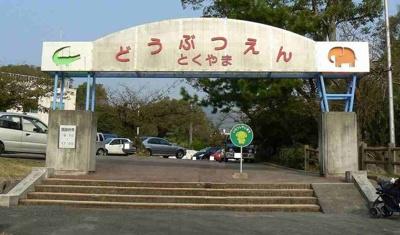 徳山動物園まで550m