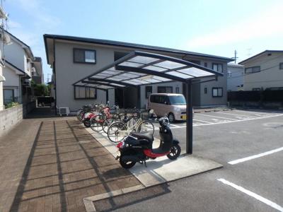 【駐車場】フォブールつばきA・B棟