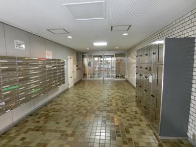 【エントランス】トーア新富マンション 3階 リ ノベーション済