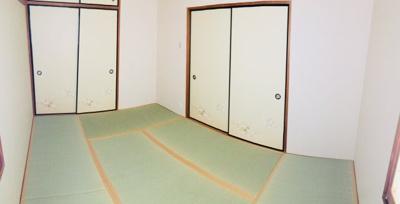 6帖の和室です