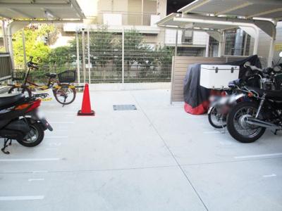 駐輪・バイクスペース