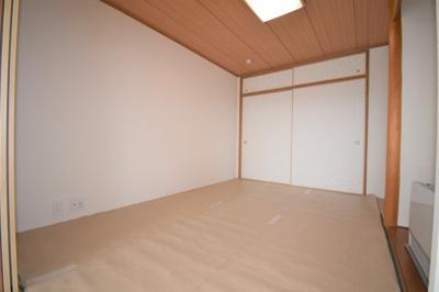 和室は6.0帖です。収納も大きく使いやすい!