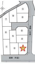 【区画図】八尾市恩智南町1丁目 3号地 新築戸建
