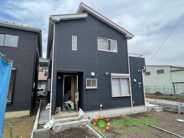 【前面道路含む現地写真】杉戸町倉松 新築一戸建て A号棟