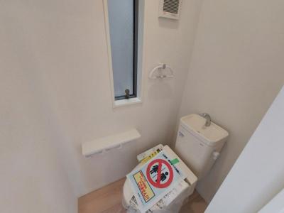 【トイレ】名古屋市中川区江松1丁目 新築一戸建て 2号棟