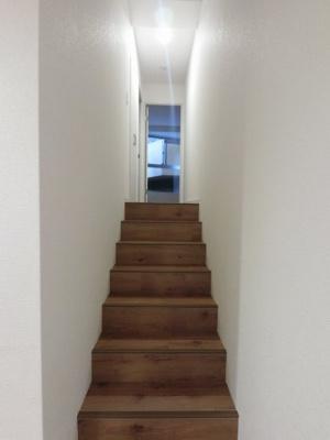 専有部分の階段です。