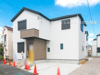 【外観】名古屋市港区港楽2丁目406-1【仲介手数料無料】新築一戸建て 6号棟
