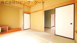 1階和室6帖 南に面する明るい和室 リフォームで大変綺麗になりました。