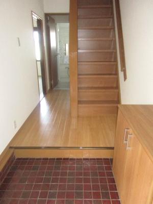 【玄関】神戸市垂水区塩屋町 中古テラスハウス