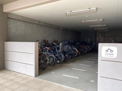 【駐輪場】パークシティ柏の葉キャンパス二番街ガーデンコートF棟