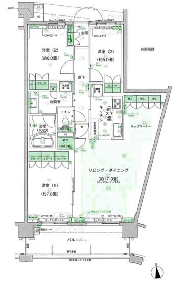 【その他】パークシティ柏の葉キャンパス二番街ガーデンコートF棟