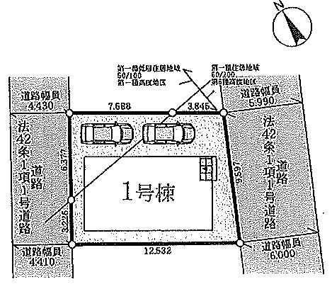 【区画図】神戸市西区玉津新方3期 新築戸建
