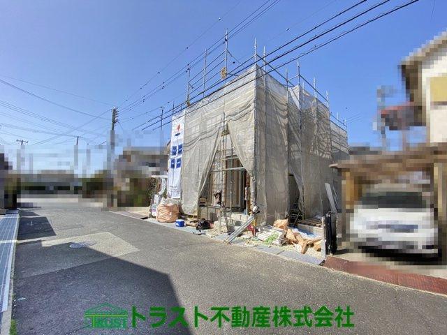 【前面道路含む現地写真】神戸市西区玉津新方3期 新築戸建