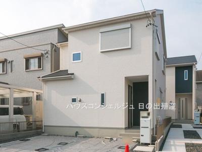 【外観】名古屋市中川区七反田町 新築一戸建て 1号棟