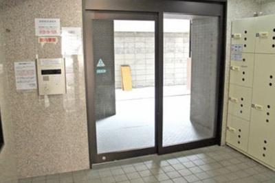 【ロビー】スカイコート蒲田駅前