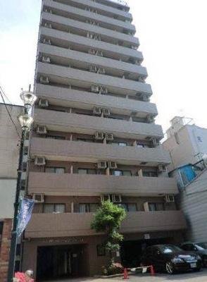 13階建て外観はタイル貼り!分譲タイプのマンションです