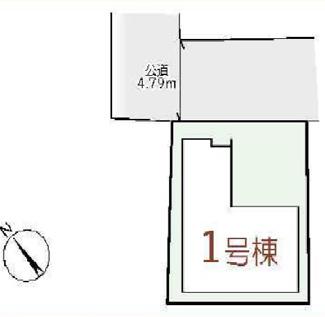 【区画図】◆1区画限定◆中野北4丁目♪