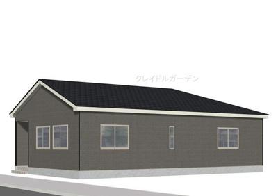【完成予想図】クレイドルガーデン 新築戸建て 館林堀工町-全4棟-