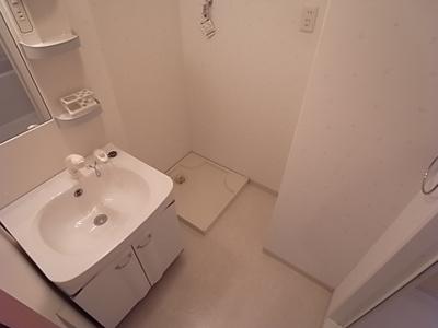人気の独立洗面台完備の洗面所です。
