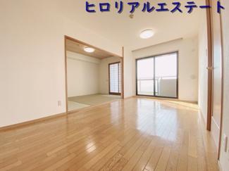【居間・リビング】ライオンズマンション明石海浜公園