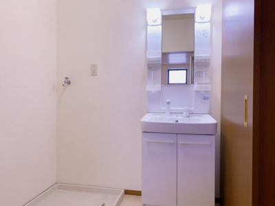 スペースが確保できる洗面所です 【COCO SMILE ココスマイル】