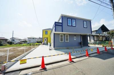【外観】保土ヶ谷区常盤台 全3棟新築戸建て